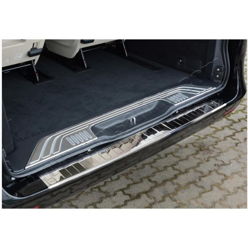 Хромированная накладка на задний бампер для Mercedes Vito W447